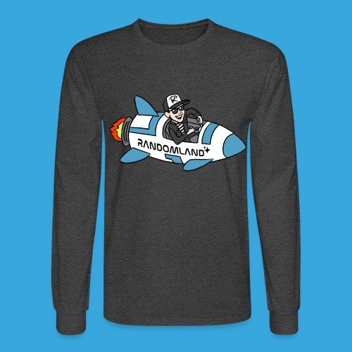 Randomland ROCKET! (Long Sleeve) - Men's Long Sleeve T-Shirt