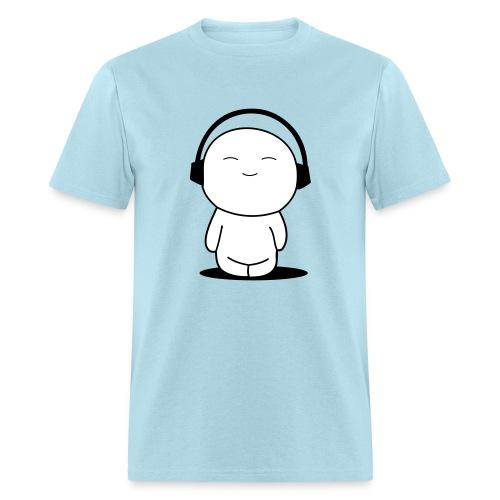 I Love Music Men's Standard Weight T-Shirt - Men's T-Shirt