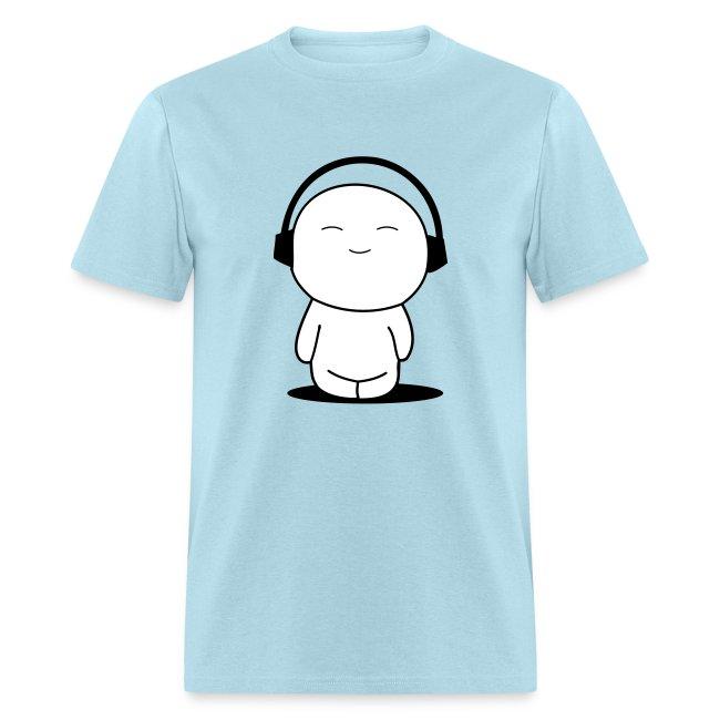 I Love Music Men's Standard Weight T-Shirt