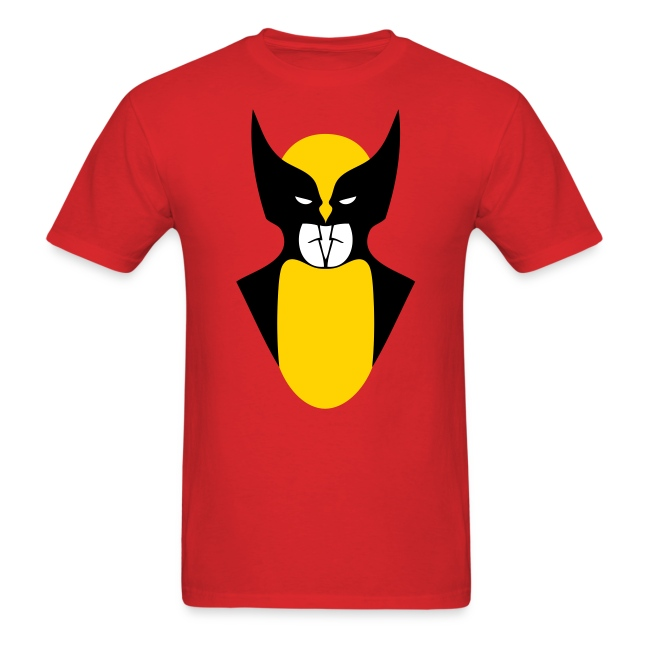 Batmen or Wolverine Men's Standard Weight T-Shirt