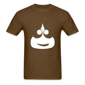 Slimey Smile (White) Men's Standard Weight T-Shirt - Men's T-Shirt