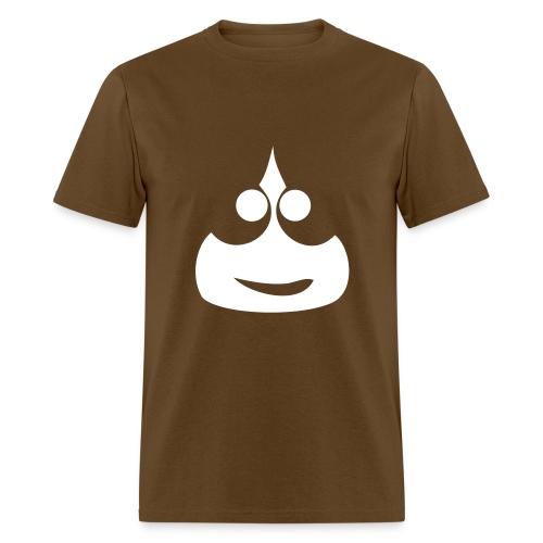 Slimey Smile (White) Men's Standard Weight T-Shirt - Men's T-Shirt