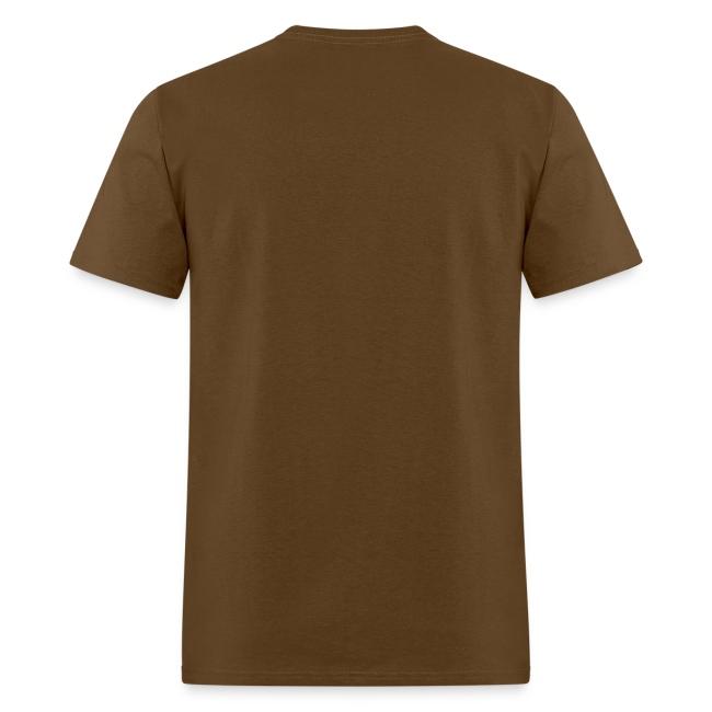 Slimey Smile (White) Men's Standard Weight T-Shirt