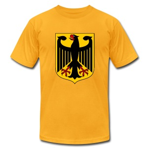 German Coat of Arms  - Men's T-Shirt by American Apparel