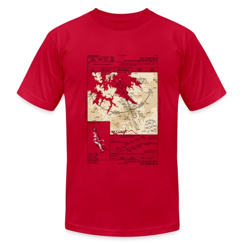 Instrument Approach - Men's  Jersey T-Shirt