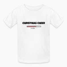 Christmas Cheer Loading Kids' Shirts