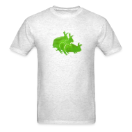 T-Shirts ~ Men's T-Shirt ~ Ilegal Rabbits
