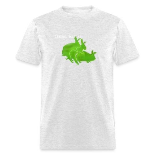 Ilegal Rabbits - Men's T-Shirt