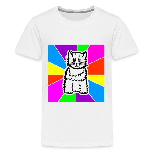 Kid's Cat Shirt - Kids' Premium T-Shirt
