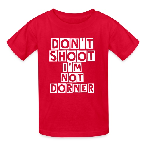 Don't Shoot I'm not Dorner Kids Shirt - Kids' T-Shirt