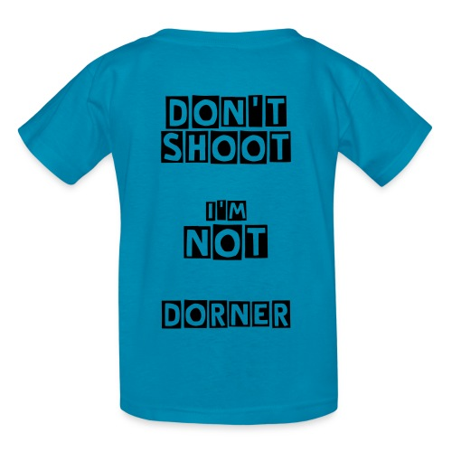 Kids' T-Shirt - Let the LAPD know that you are not Christopher Dorner. Show your support for the revolution that is necessary in the LAPD.