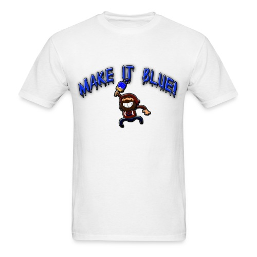 Men's Make It BlueT-Shirt - Men's T-Shirt