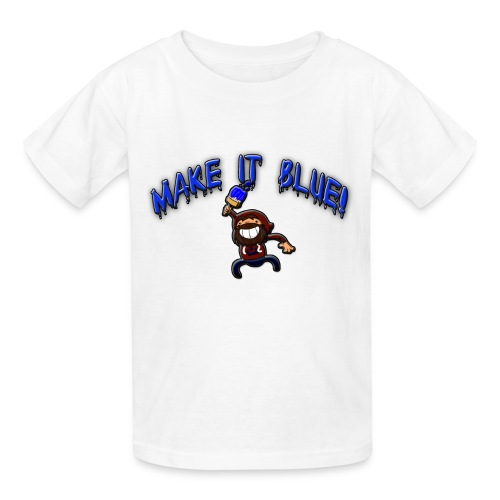 Kid's Make It Blue T-Shirt - Kids' T-Shirt