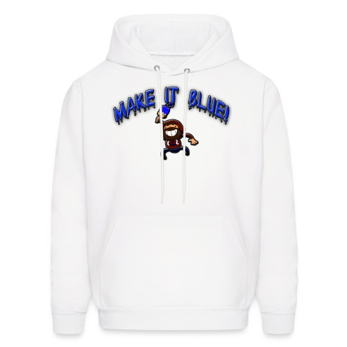 Men's Make It Blue Hoodie - Men's Hoodie