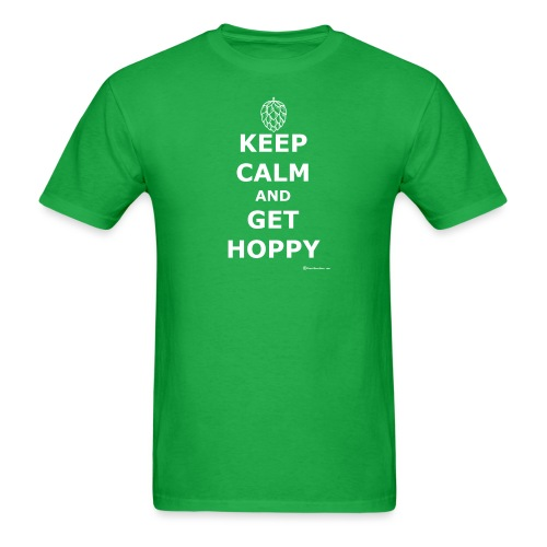 Keep Calm And Get Hoppy Men's T-Shirt - Men's T-Shirt