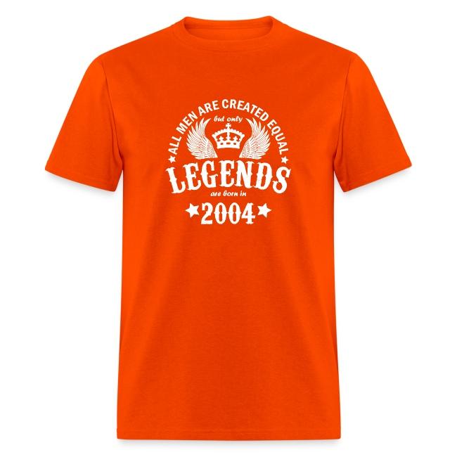 Legends are Born in 2004