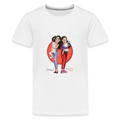 Colleen/Miranda Cartoon shirt - Kids' Premium T-Shirt