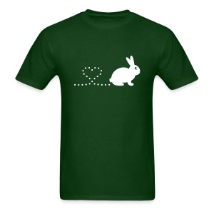 'Pooping Heart Rabbit' Men's/Unisex T-Shirt - Men's T-Shirt