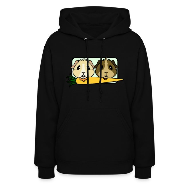 'Pair of Pigs' Ladies Hoodie