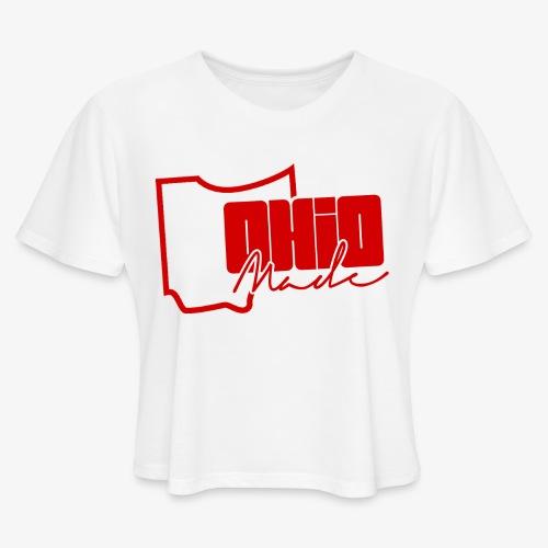 Ohio Made Crop  - Women's Cropped T-Shirt