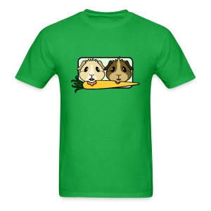 'Pair of Pigs' Guinea Pig Men's/Unisex T-Shirt - Men's T-Shirt
