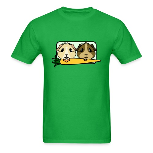 'Pair of Pigs' Guinea Pig Men's/Unisex T-Shirt - Men's T-Shirt
