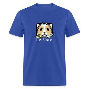 'Hay There' Guinea Pig Men's/Unisex T-Shirt - Men's T-Shirt