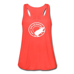 'Rollin' with my Hammy' Ladies Tank/Vest Top - Women's Flowy Tank Top by Bella