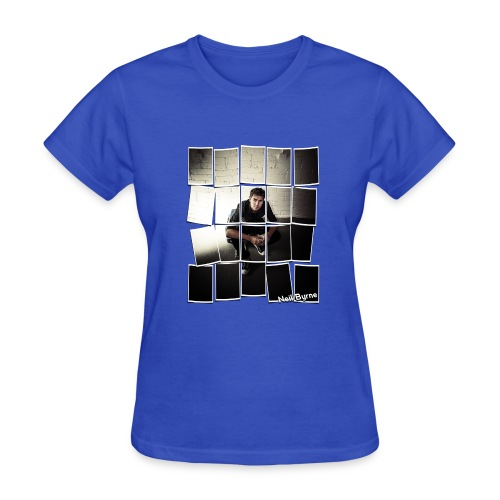 Ladies - Neil Byrne - Cards Design - Women's T-Shirt