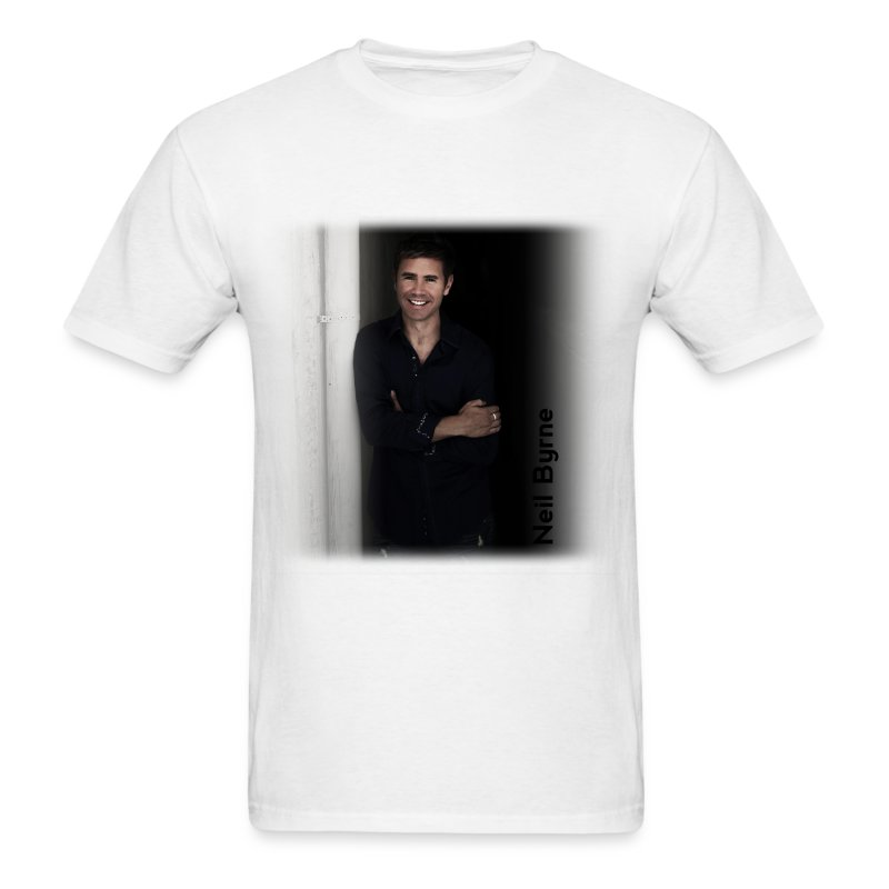 Mens - Neil Byrne - Black Shirt - Men's T-Shirt