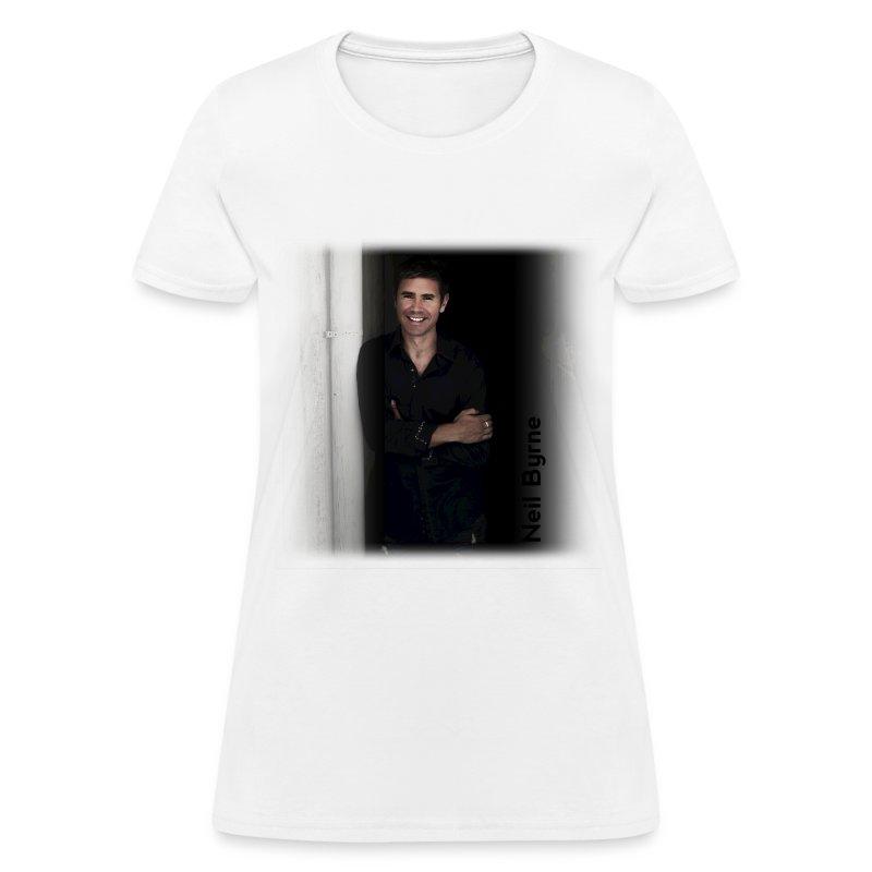 Ladies - Neil Byrne - Black Shirt - Women's T-Shirt