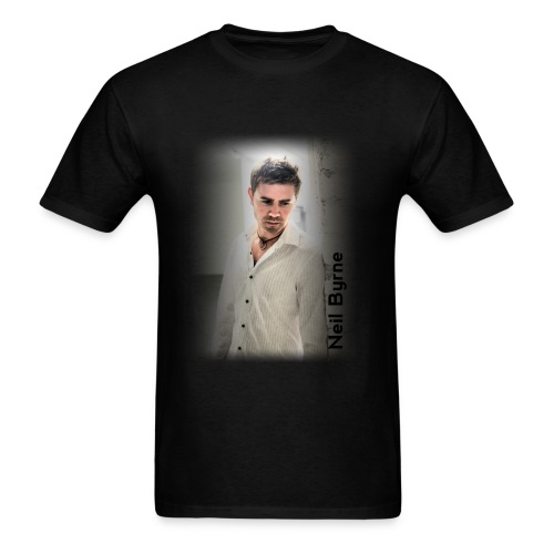 Mens - Neil Byrne - White Shirt - Men's T-Shirt