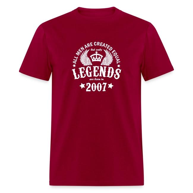 Legends are Born in 2007