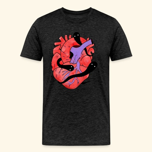 Ghost Heart (Mens) - Men's Premium T-Shirt