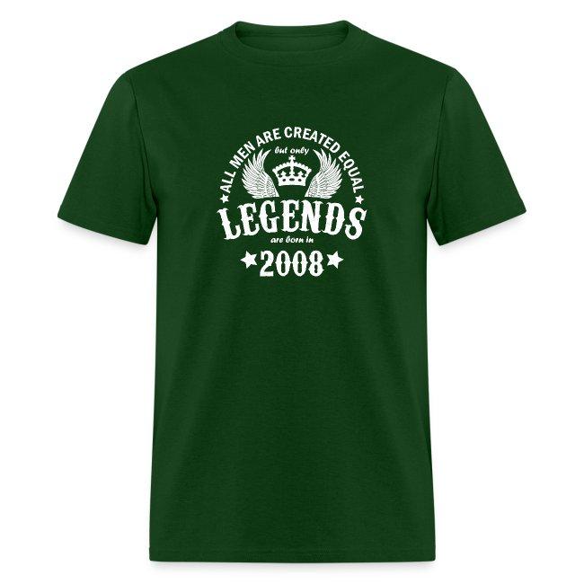 Legends are Born in 2008