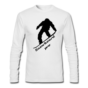 Snowboard pro shirt - Men's Long Sleeve T-Shirt by Next Level