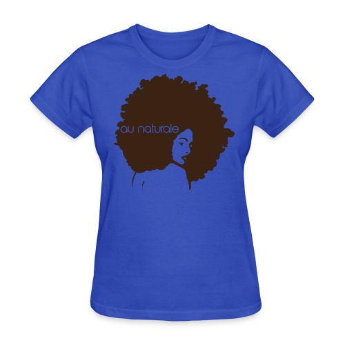 Au Naturale (Light Blue) - Women's T-Shirt