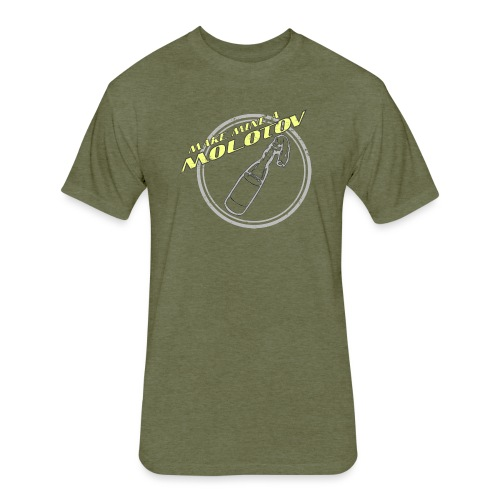 Make Mine A Molotov - Fitted Cotton/Poly T-Shirt by Next Level