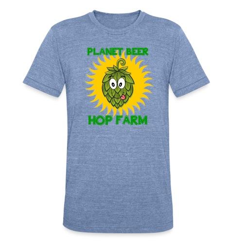 Planet Beer Hop Farm Unisex Tri-Blend T-Shirt - Unisex Tri-Blend T-Shirt