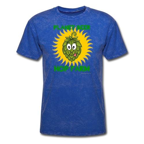 Planet Beer Hop Farm Men's T-Shirt - Men's T-Shirt