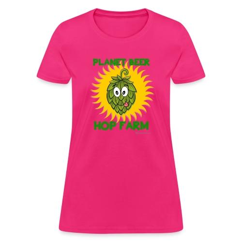 Planet Beer Hop Farm Women's T-Shirt - Women's T-Shirt