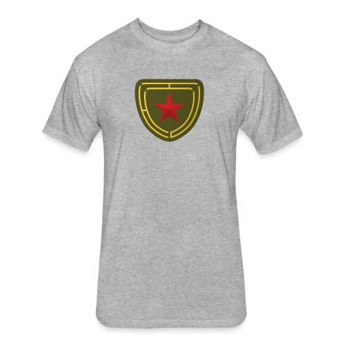 Humor in Uniform - Fitted Cotton/Poly T-Shirt by Next Level