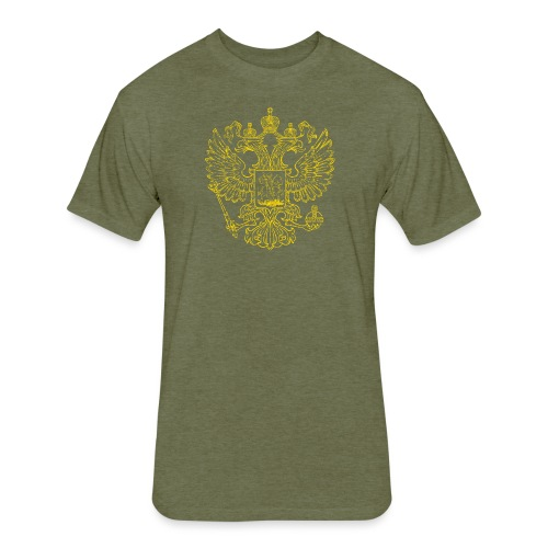 Russia - Fitted Cotton/Poly T-Shirt by Next Level
