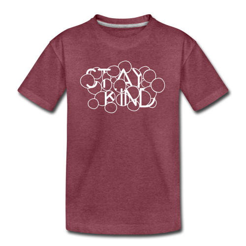 Stay Kind Abstract - Kids' Premium T-Shirt