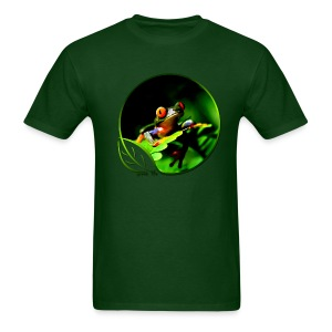 Green Life Series - Tree Frog - Men's T-Shirt