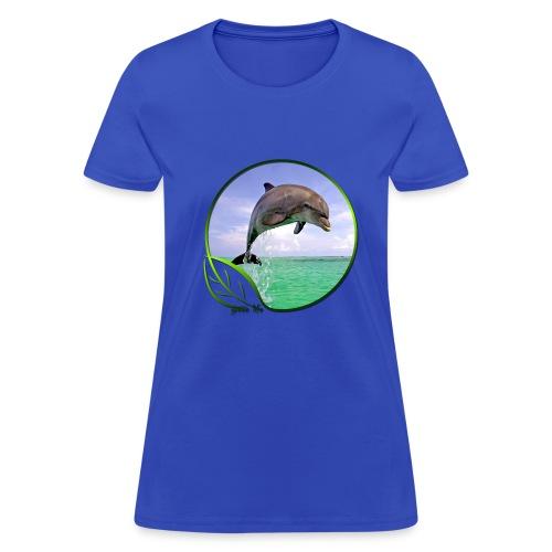 Green Life Series - Dolphin - Women's T-Shirt