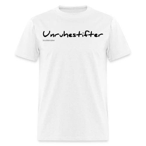 German T-Shirt Unruhestifter - Men's T-Shirt