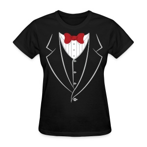 Tuxedo Tee - Women's T-Shirt