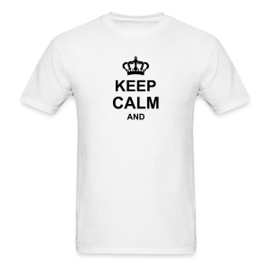 keep_calm_and_g1 T-Shirts - Men's T-Shirt