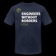T-Shirts ~ Men's T-Shirt by American Apparel ~ EWB USA Men's T-Shirt